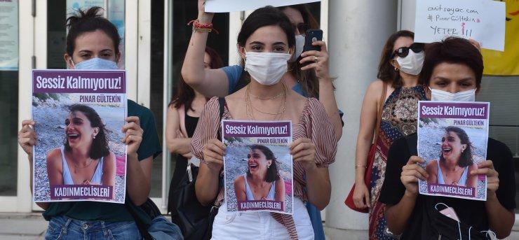 Edirneli kadınlar, Pınar Gültekin'in katledilmesini protesto etti