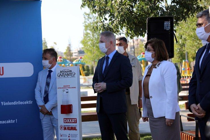 Gaziantep'teki parklarda 'yapay zekalı' güvenlik önlemi
