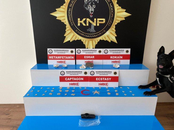 Kahramanmaraş'ta uyuşturucu tacirlerine operasyon: 2 gözaltı