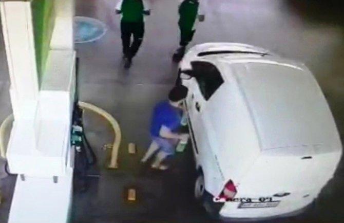 Katil zanlısının benzin istasyonundaki görüntüleri ortaya çıktı