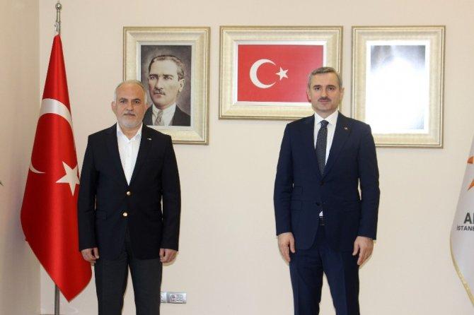 Kızılay'dan AK Parti'ye teşekkür ziyareti