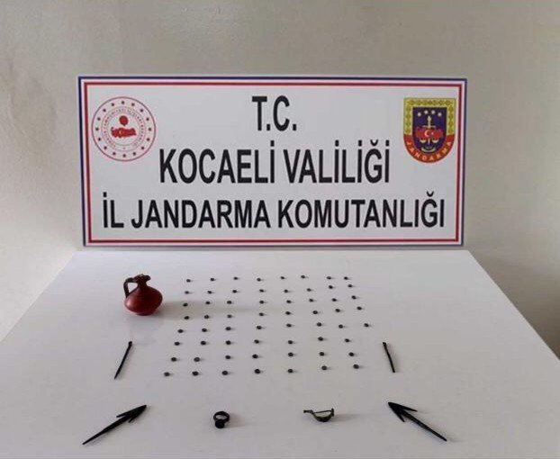Kocaeli'de tarihi eser operasyonu: 1 gözaltı