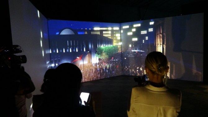 15 Temmuz Zaferi, Dijital Gösterim Merkezlerinde yaşatılıyor