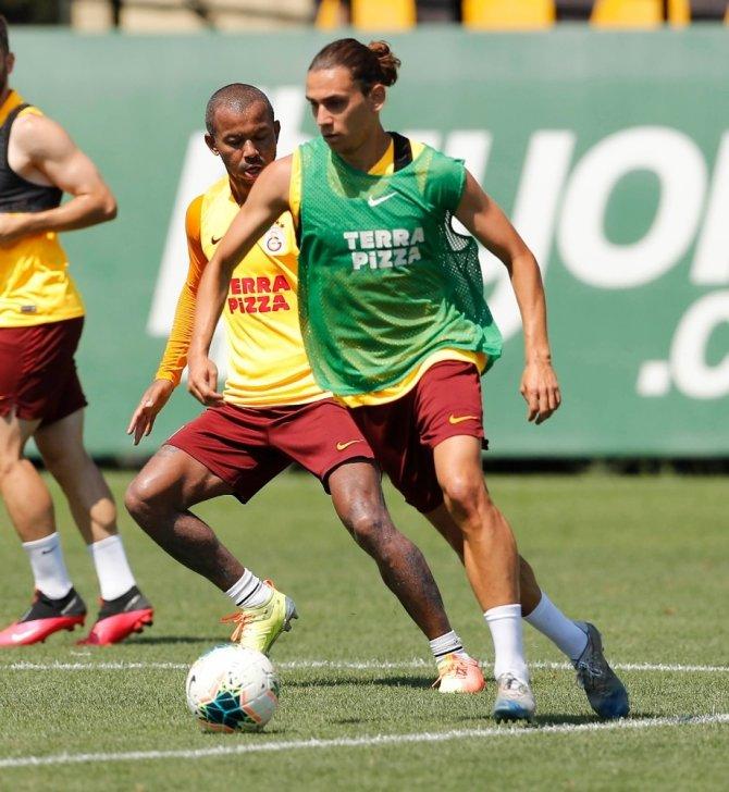 Galatasaray, Antalyaspor hazırlıklarını sürdürdü