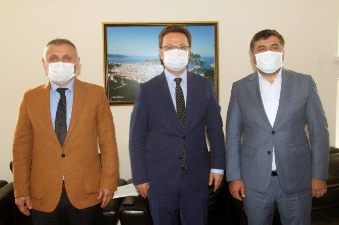 Giresun Valiliği'nde Kurban Bayramı öncesi pandemi toplantısı