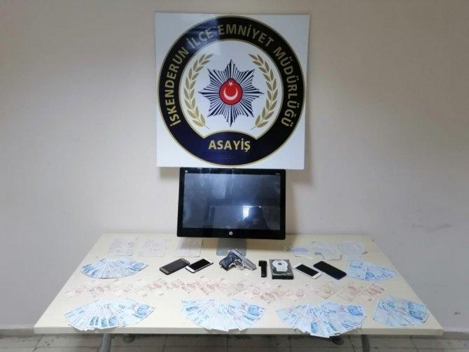 Hatay'da yasa dışı bahis operasyonu: 5 gözaltı