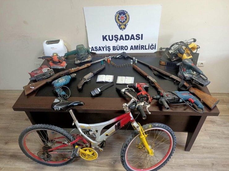 Hırsızlık şüphelisi, kamera görüntülerinden yakalandı