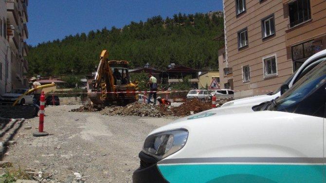 İslahiye'de önce patlama ardından sızıntı paniği
