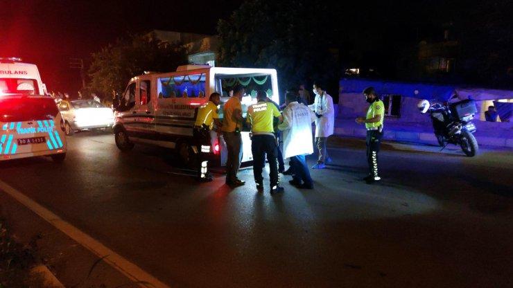 Otomobilin çaptığı anne öldü, kızı ise ağır yaralandı