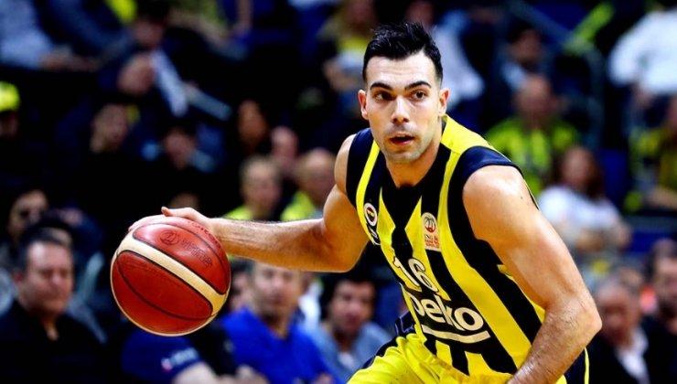 Fenerbahçe'de Sloukas ile yollar ayrıldı