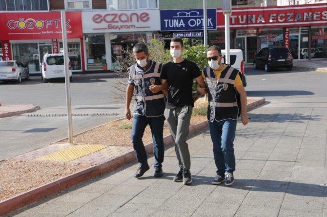 Kahramanmaraş'ta hırsızlıktan aranan firari hükümlü yakalandı