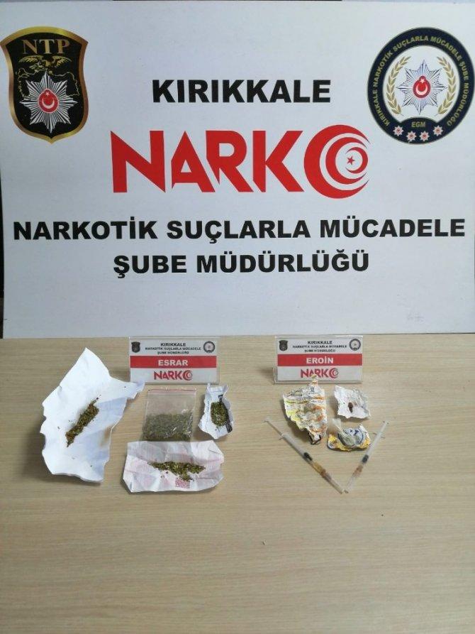 Kırıkkale'de uyuşturucu operasyonu, 4 tutuklama
