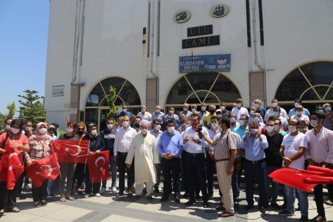 Mersin'de 'Ayasofya' için şükür duası