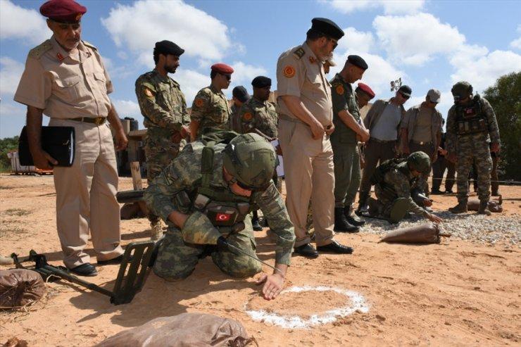 MSB: Libya'da mayın temizleme çalışmaları devam ediyor