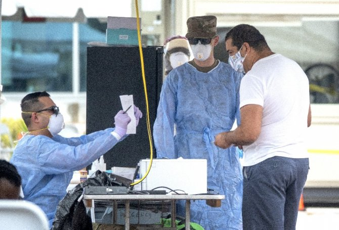 ABD'de korona virüs vaka sayısı 4 milyonu aştı