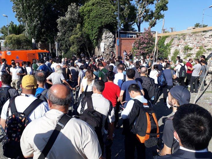 Ayasofya'nın açılışına yerli ve yabancı basından yoğun ilgi