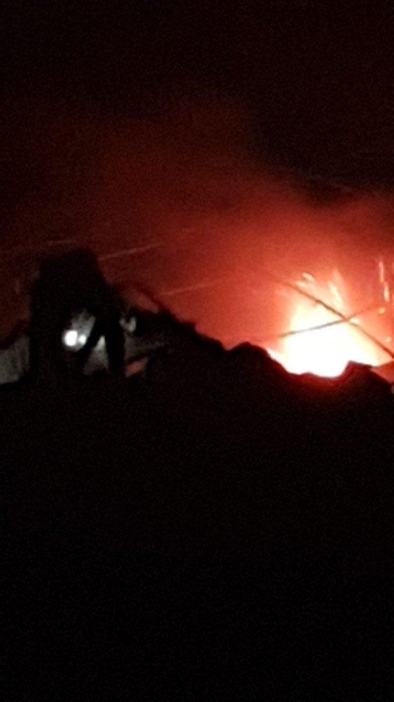 Azez'de mühimmat deposunda patlama: 4 ölü, 11 yaralı