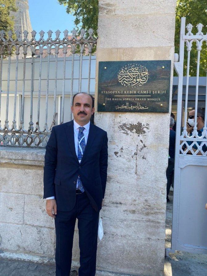 """Başkan Altay: """"Biz Ayasofya'ya, Ayasofya da özlediği günlere kavuştu"""""""