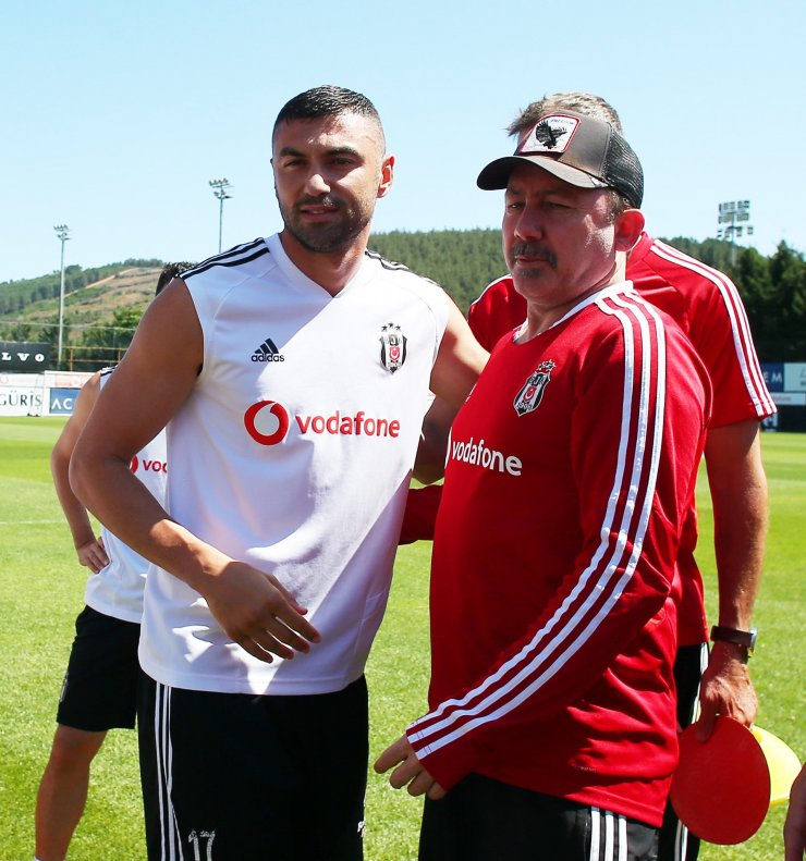 Burak Yılmaz Beşiktaş'a veda etti