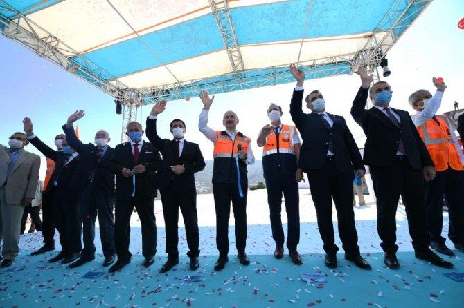 Amasya Çevre Yolu hizmete açıldı
