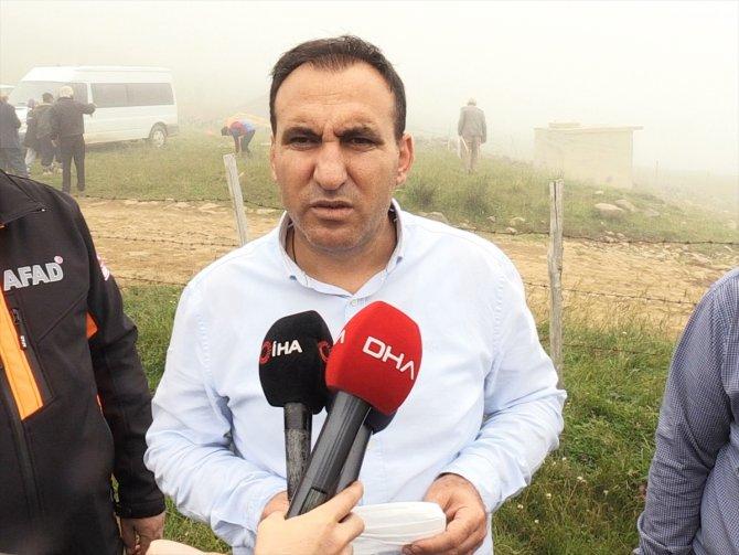 Giresun'da yaylada kaybolan kız çocuğu aranmaya devam ediliyor