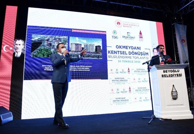 """Bakan Kurum: """"Türkiye'de 1,5 milyon acil dönüştürülmesi gereken konut var"""""""