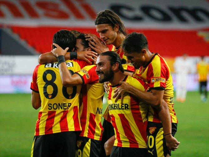 Göztepe: 1 - Demir Grup Sivasspor: 0 (İlk yarı sonucu)