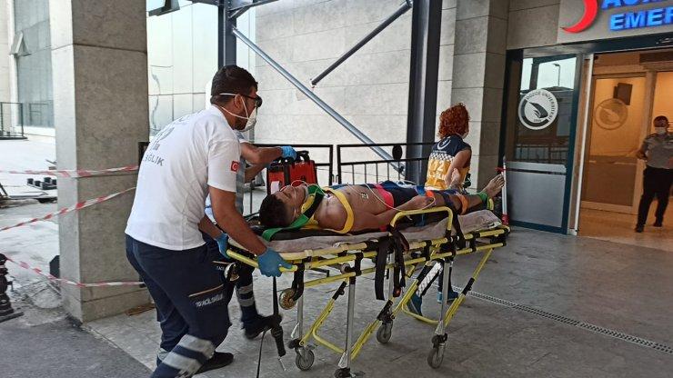 Fındık işçisi genci boğulmaktan vatandaşlar kurtardı