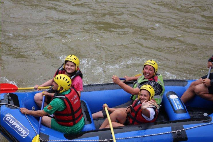Fırtına Deresi'nde rafting heyecanı başladı