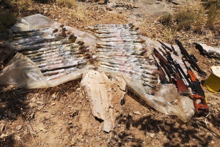 MSB: Pençe-Kaplan Operasyonu'nda çok sayıda silah ve mühimmat imha edildi