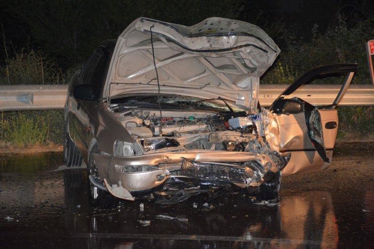 Tokat'ta iki otomobil çarpıştı: 4 yaralı