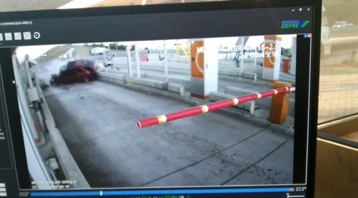 Uzman Onbaşı'nın hayatını kaybettiği kaza kamerada
