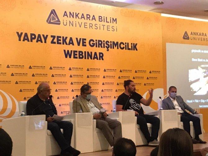 """Ankara Bilim Üniversitesi'nde """"Yapay Zeka ve Girişimcilik Webinarı"""" düzenlendi"""