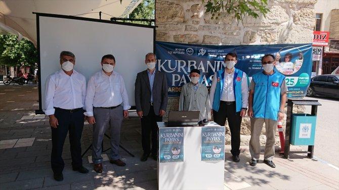Beyşehir'de vekalet yoluyla kurban bağışları alınıyor