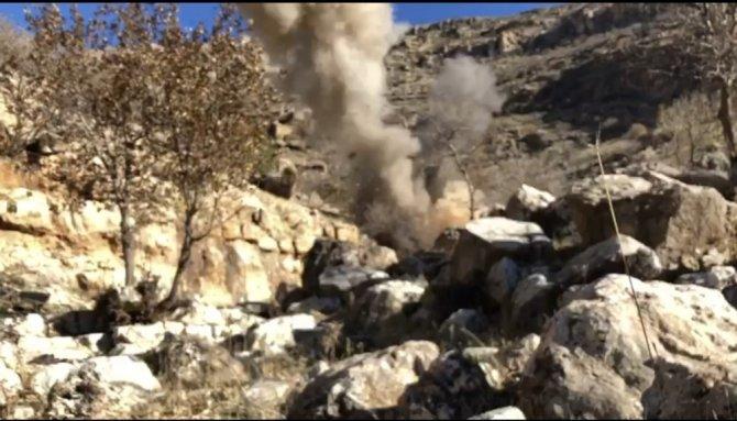 Mardin'de araziye tuzaklanan patlayıcı imha edildi