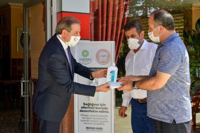 Meram Belediyesi korona virüs mücadelesine devam ediyor