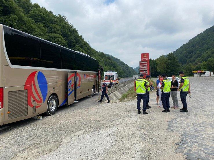 'Şifalı olduğuna inanılan suyu doldurup, yolun karşısına geçerken otobüs çarptı