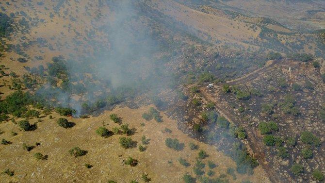 Siirt'in Baykan ilçesinde çıkanorman yangını kontrol altına alındı