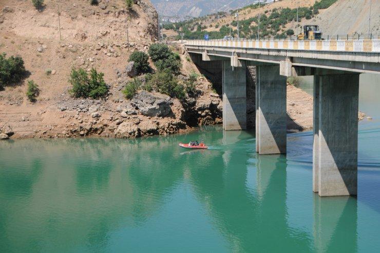 Gülistan Doku'dan 205'inci günde de iz yok; su seviyesi 8 metre düştü