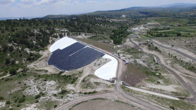 Kahramankazan Tekkeköy Barajında sona yaklaşıldı