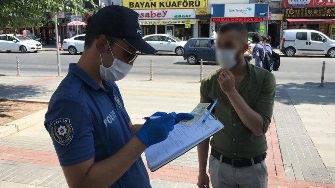 Konya'da maske ve sosyal mesafe ihlali yapan 90 kişiye 100 bin lira ceza