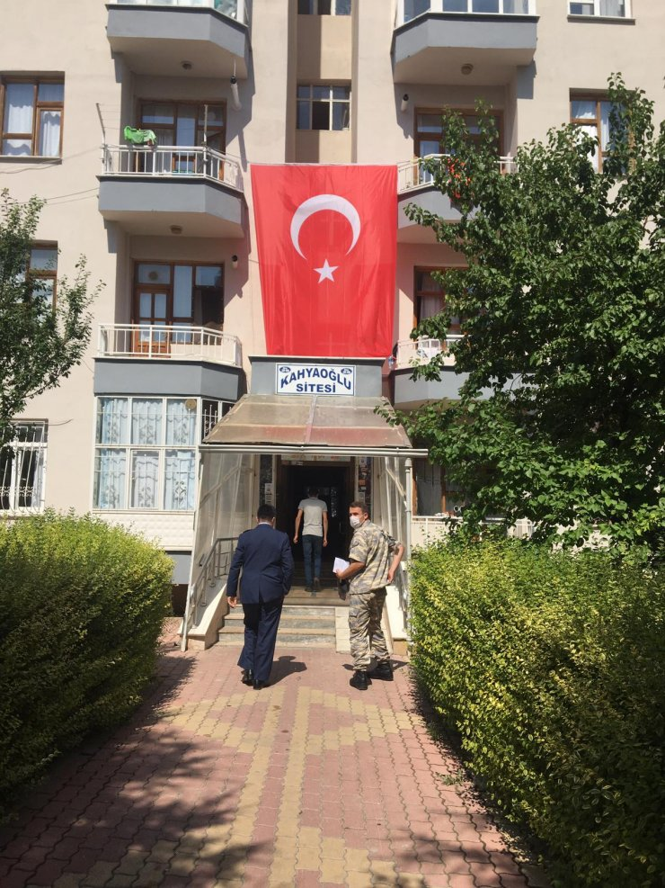 Konya'da şehit ateşi