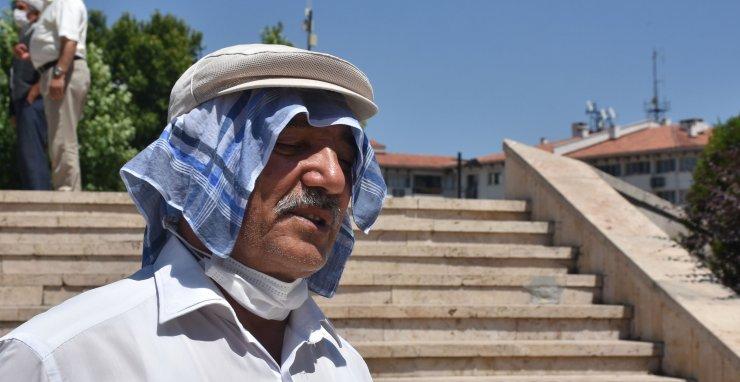 Sivaslılar 38 derece sıcakta bunaldı