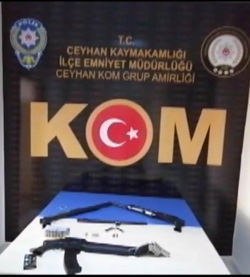 Adana'da 2 ayrı suç çetesine operasyon: 13 gözaltı