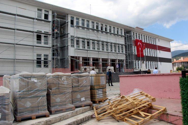 Bolu'da 58 milyon liraya 20 okul yenileniyor