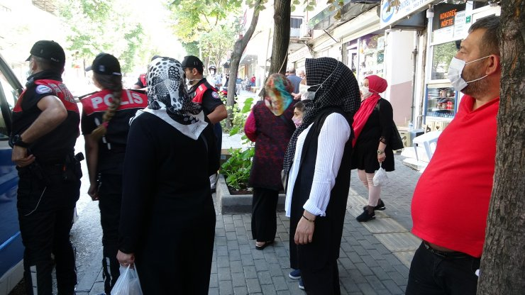 Bursa'da, dolmuşlara 'koronavirüs' denetimi