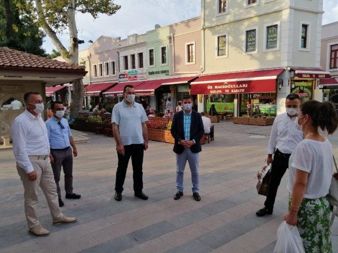 Tarihi Orhan Camii restorasyonu sürüyor