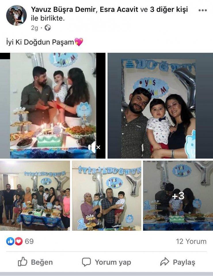 Ceza tartışmasında öldürülen genç, 2 gün önce oğlunun doğum gününü kutlamış