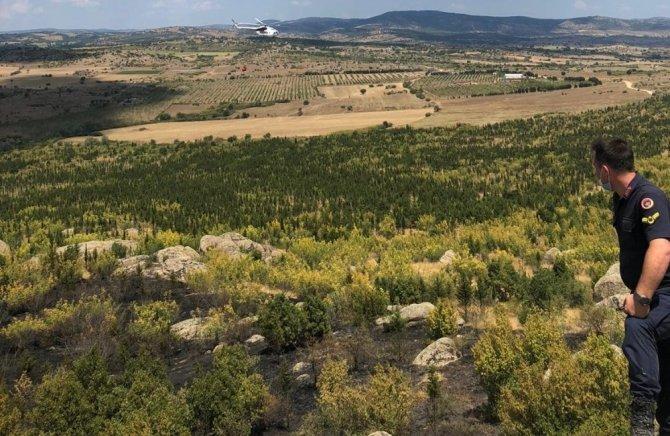 Kırklareli'deki orman yangını söndürüldü