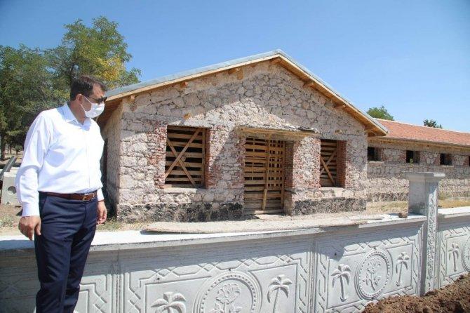 Sultan Abdülhamid Han'a at yetiştirilen haralar, turizme kazandırılıyor